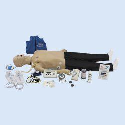 Adult Crisis Manikin with ECG Simulator