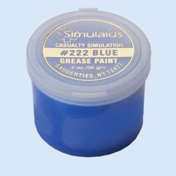 Grease Paint Blue