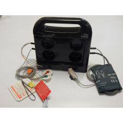 TruMonitor Case mit EKG-, Defi-, Blutdruck- und SpO2 Zubehör (nur für iPad 9.7 inch)